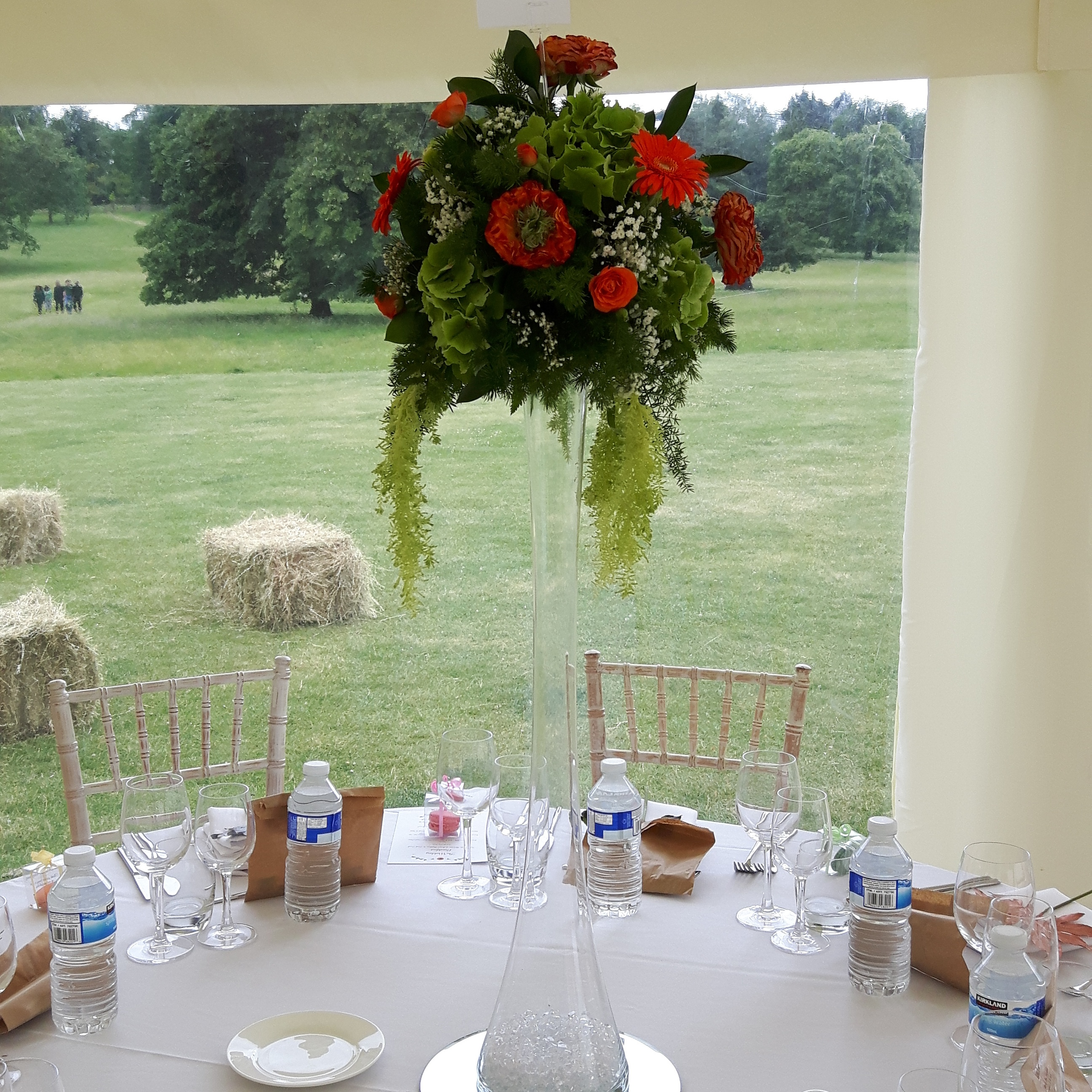 Items For Hire Wedding Special Occasion Martini Vase Candelabra